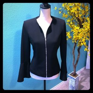 Calvin Klein zip up blazer Size 6